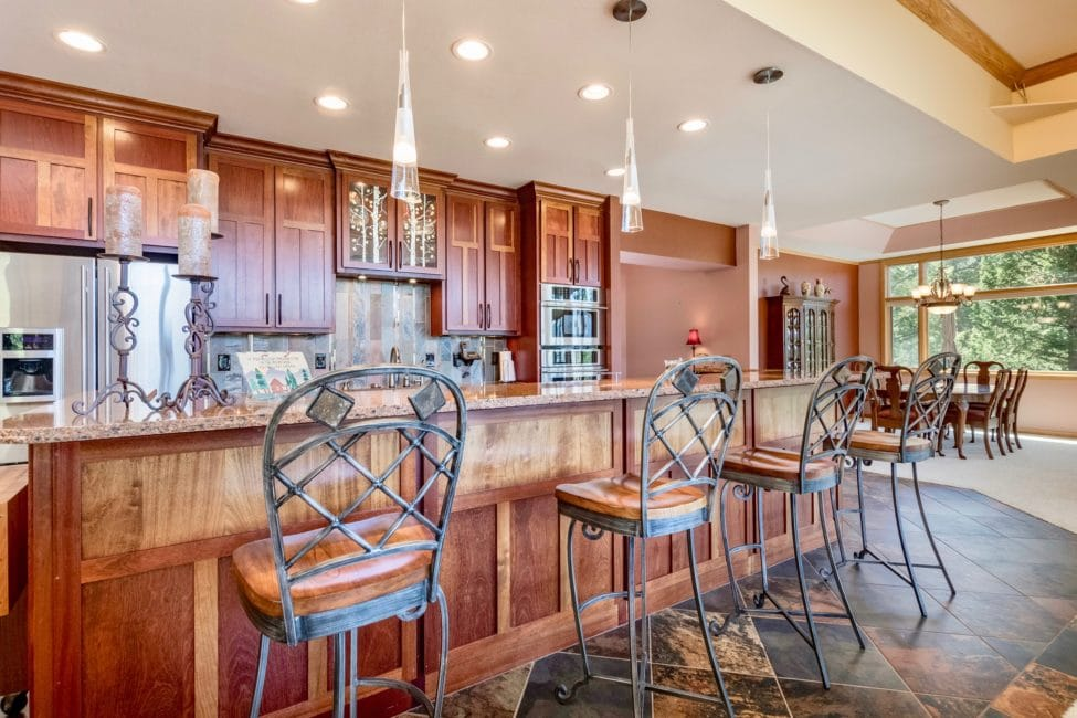 Eaglecliff Cr Kitchen - Windcliff Estes Park Real Estate